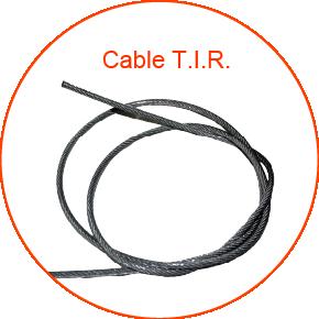 fundas para cables de acero